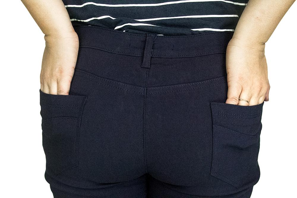 CY 2181 WOMAN CASUAL PANTS BIG PLUS SIZE SELUAR SIZE BESAR XXXL 4XL