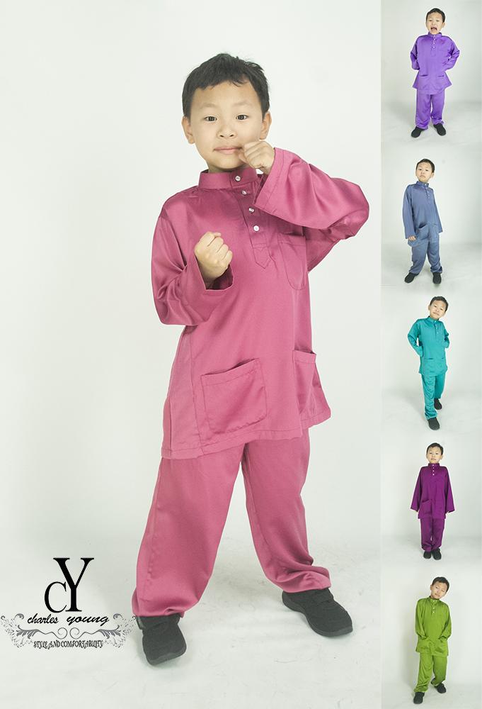 CY 028 BAJU MELAYU MUSLIM MUSLIMIN KIDS BUDAK BABY
