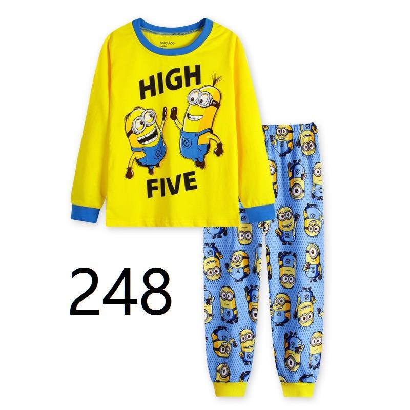 CY 146937  CHILDREN KID PYJAMAS SLEEPWEAR DISNEY CARTOON MINION F