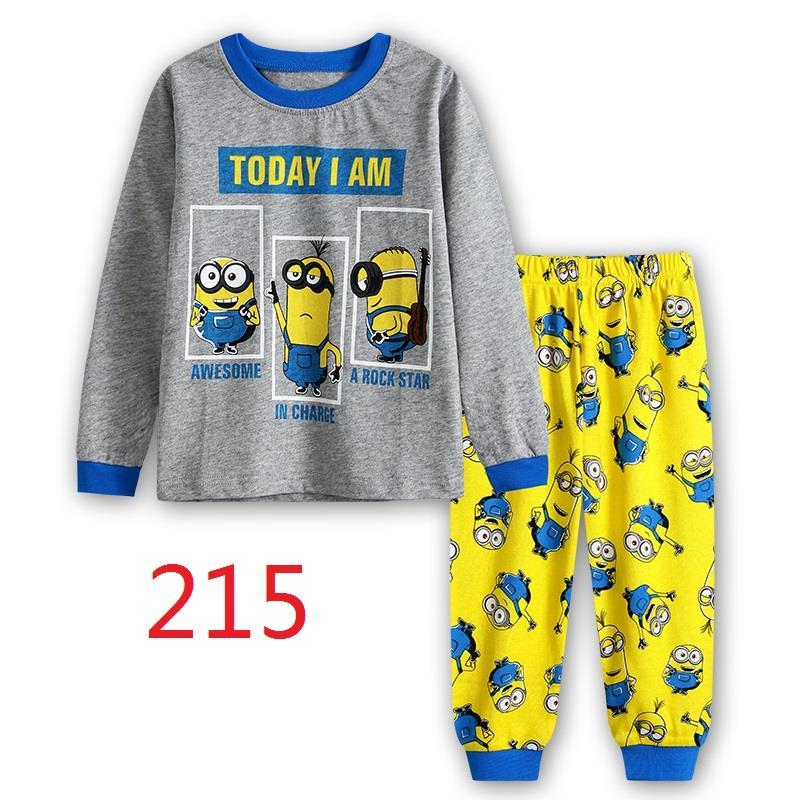 CY 146936  CHILDREN KID PYJAMAS SLEEPWEAR DISNEY CARTOON MINION E