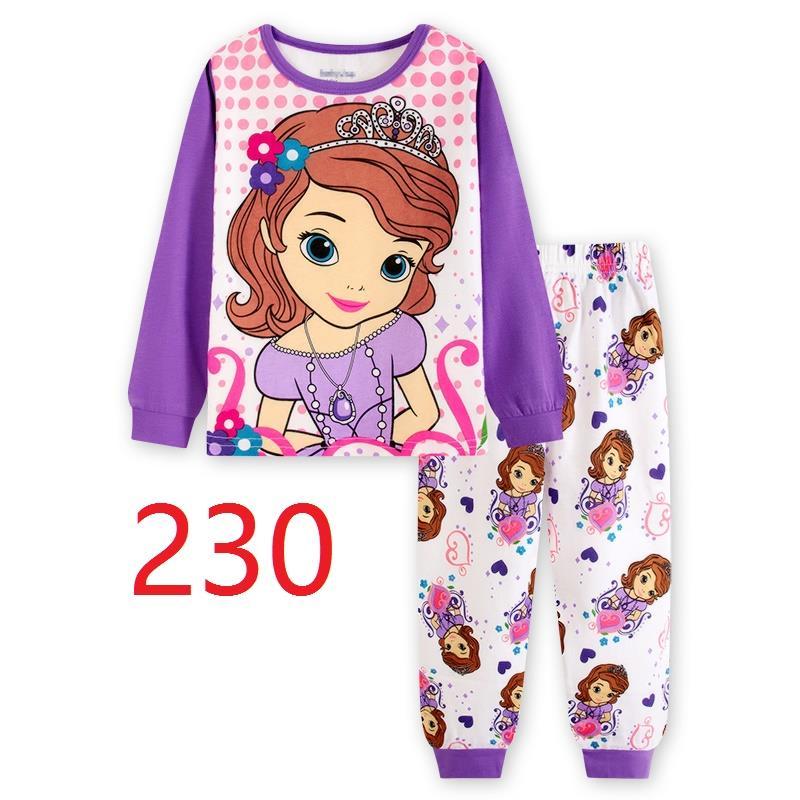 CY 146910 CHILDREN KID PYJAMAS SLEEPWEAR DISNEY CARTOON SOFIA A