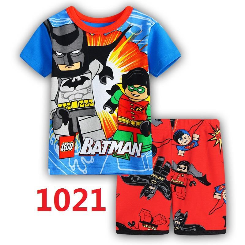 CY 149227 CHILDREN  SUIT PASANG BUDAK SHORT LEGO DISNEY JUSTICE LEAGUE BATMAN