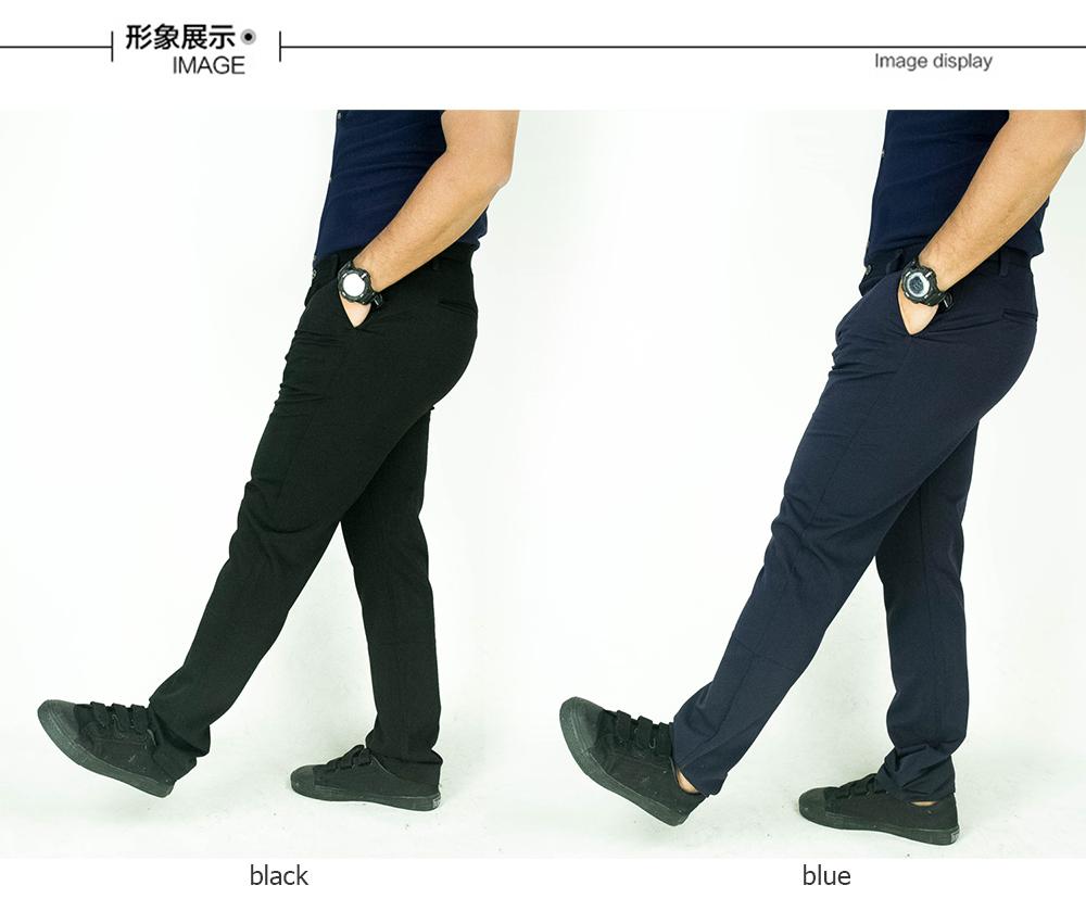 CY  0192 [ BLUE ] CASUAL OFFICE KPOP SLIM KOREA PANTS SELUAR PLUS SIZE BESAR