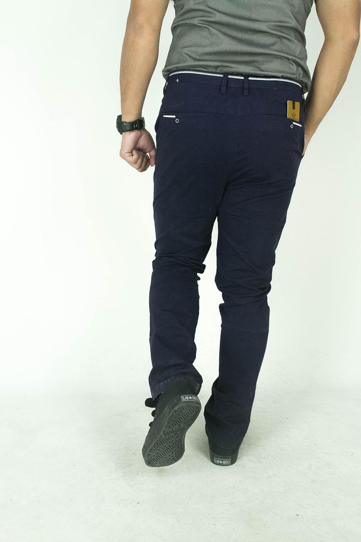 CY  0133 [ BLUE ] CASUAL OFFICE KPOP SLIM KOREA PANTS SELUAR PLUS SIZE BESAR