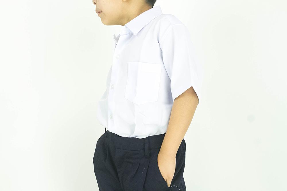 CY 346SR [ WHITE ] KEMEJA SHIRT KOSHIBO SEKOLAH RENDAH PRIMARY SCHOOL KBSR LENGAN PENDEK