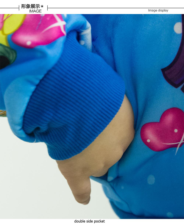 CY 4469 [ PURPLE / RED ] TRAVEL JACKET SWEATER HOODIES DISNEY KID CHILDREN PONEY