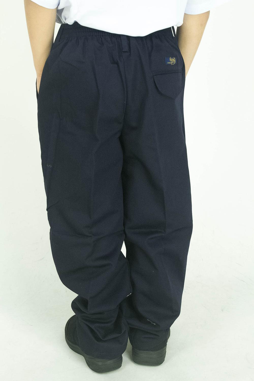 CY 402 SELUAR PANJANG BIRU SEKOLAH UNIFORM  / SCHOOL LONG PANTS BLUE / 小学蓝裤