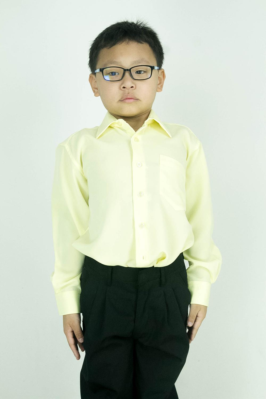 CY 346SR [KUNING / YELLOW ] KEMEJA KOSHIBO SEKOLAH PRIMARY SCHOOL LENGAN PANJANG