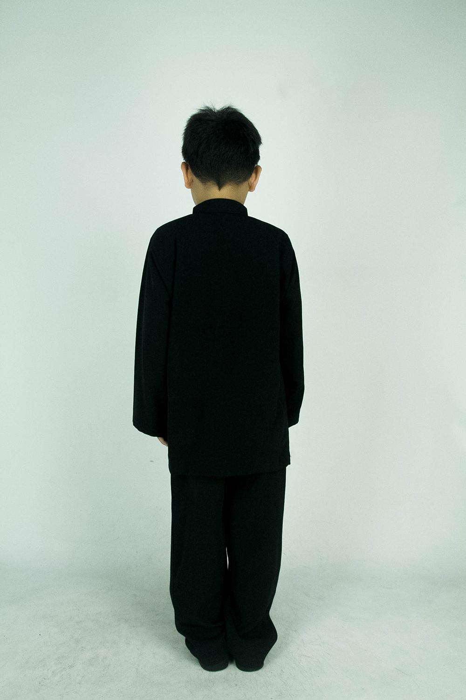 CY 346BM PASANG BAJU MELAYU SEKOLAH MUSLIM AGAMA TAHFIZ KOSHIBO BLACK / HITAM