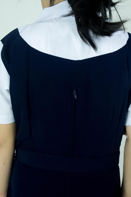 CY 346GR GAUN PINAFORE SEKOLAH RENDAH SJKC SJKT / SCHOOL PINAFORE DRESS