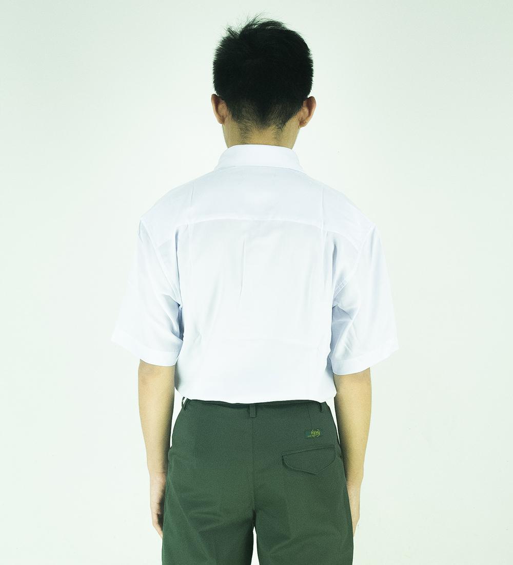 CY 346SR [ WHITE ] KEMEJA OFFICE KOSHIBO SEKOLAH MENEGAH SECONDARY SCHOOL SMK