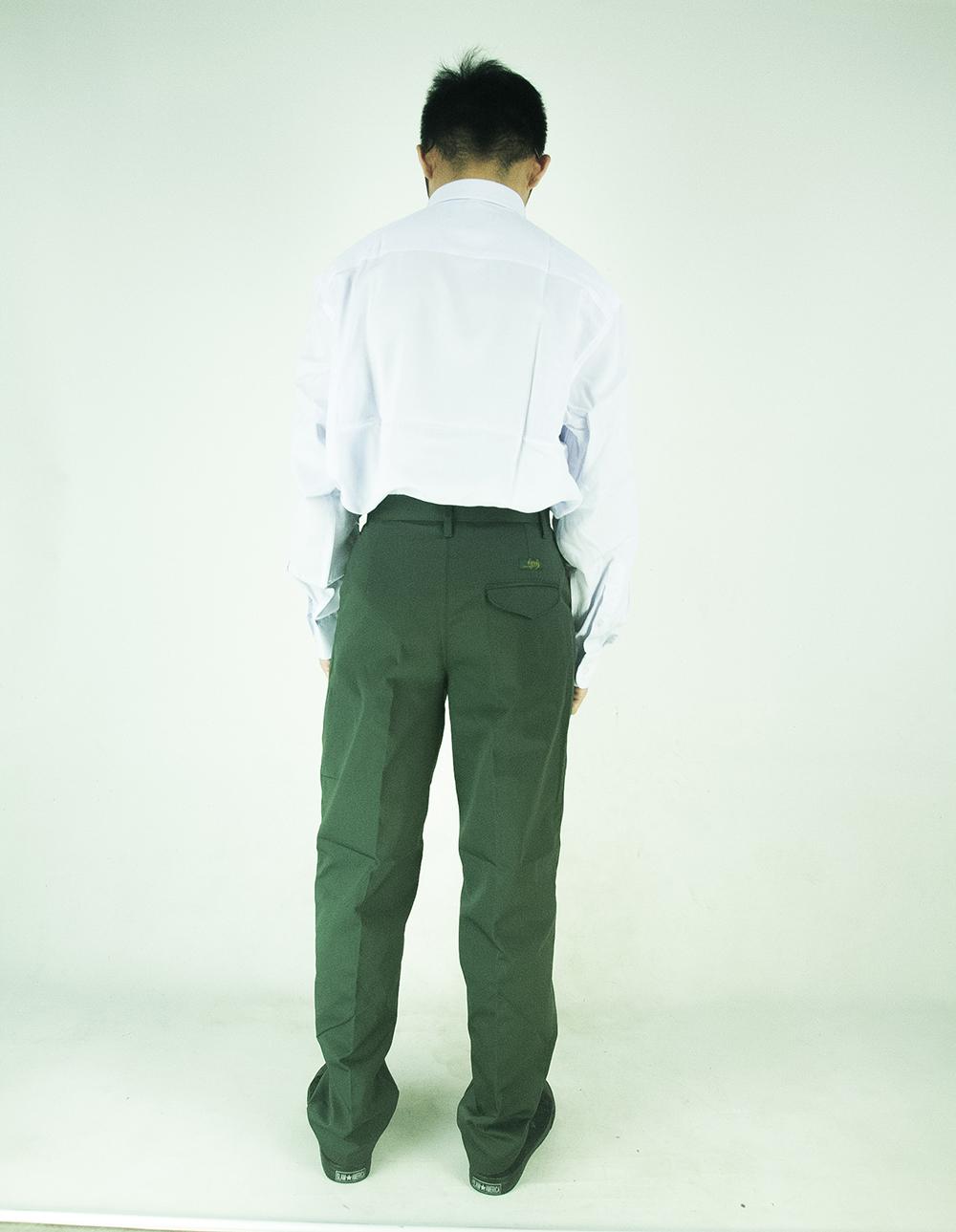 CY 346SR [ WHITE ] KEMEJA KOSHIBO SHIRT SEKOLAH SECONDARY SCHOOL LONG SLEEVE