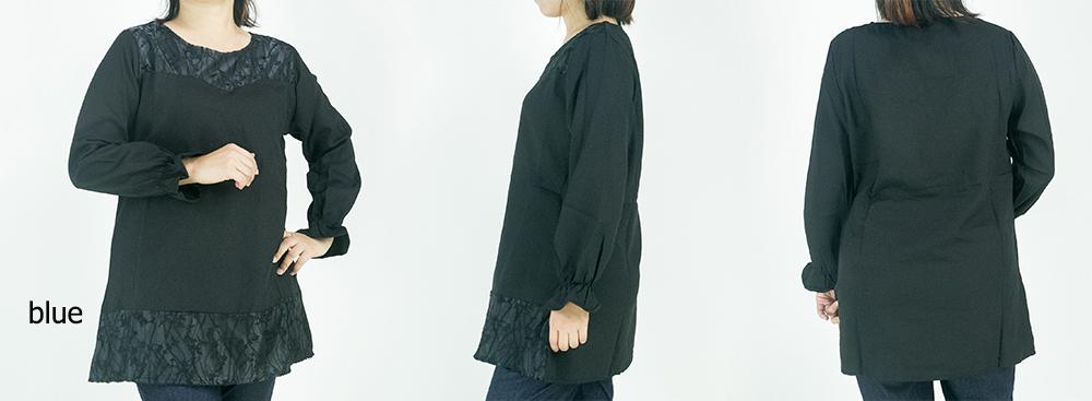 CY 2819 WOMAN MUSLIMAH BLOUSE SHIRT PEREMPUAN KOREA PLUS SIZE BESAR